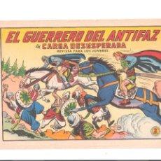 Tebeos: EL GUERRERO DEL ANTIFAZ Nº 632- ORIGINAL. Lote 113091083