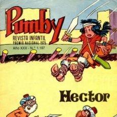 Tebeos: PUMBY-REVISTA INFANTIL- Nº 1197 - HÉCTOR DE CHIQUI -1984-RARO Y ESCASO- EDGAR-ROJAS-BUENO-LEAN- 8058. Lote 113113099