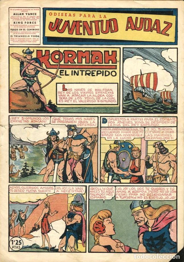 JUVENTUD AUDAZ-10 (VALENCIANA, 1951) (Tebeos y Comics - Valenciana - Otros)
