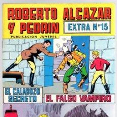 Tebeos: ROBERTO ALCAZAR Y PEDRIN EXTRA Nº 15. 2ª EPOCA. AÑO 1976. Lote 113576287