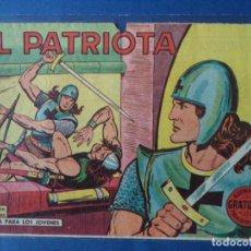Tebeos: EL PATRIOTA. ORIGINAL.Nº1. Lote 113578991