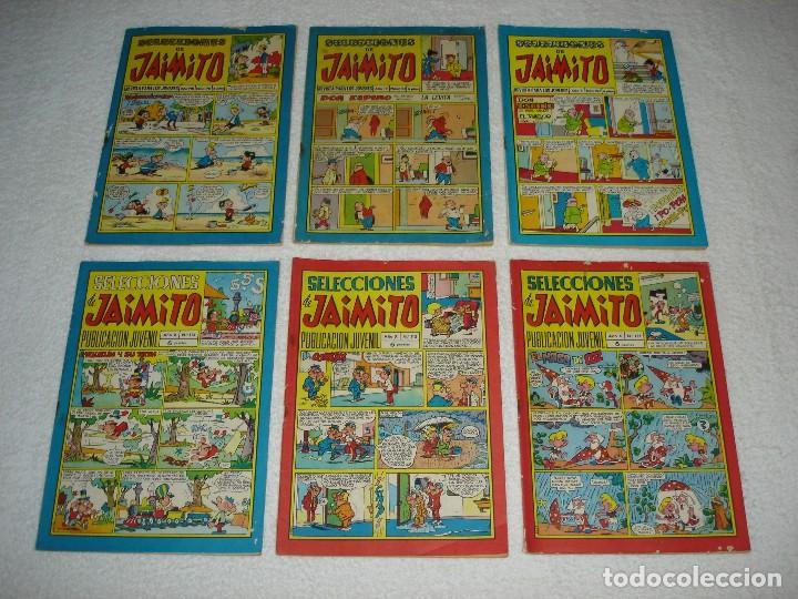 Tebeos: JAIMITO LOTE DE 180 EJEMPLARES (INCLUYE ALMANAQUES, ALBUMES, EXTRAS Y SELECCIONES) - DIVERSAS EPOCAS - Foto 5 - 113715387