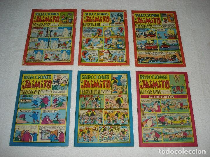 Tebeos: JAIMITO LOTE DE 180 EJEMPLARES (INCLUYE ALMANAQUES, ALBUMES, EXTRAS Y SELECCIONES) - DIVERSAS EPOCAS - Foto 7 - 113715387