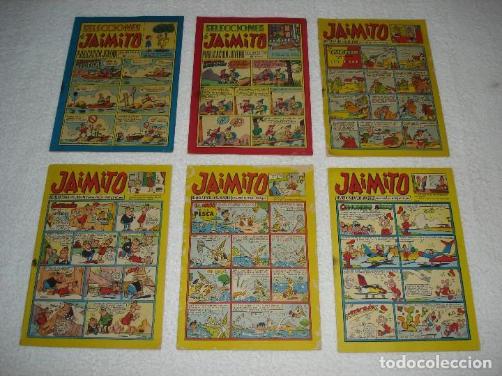 Tebeos: JAIMITO LOTE DE 180 EJEMPLARES (INCLUYE ALMANAQUES, ALBUMES, EXTRAS Y SELECCIONES) - DIVERSAS EPOCAS - Foto 8 - 113715387