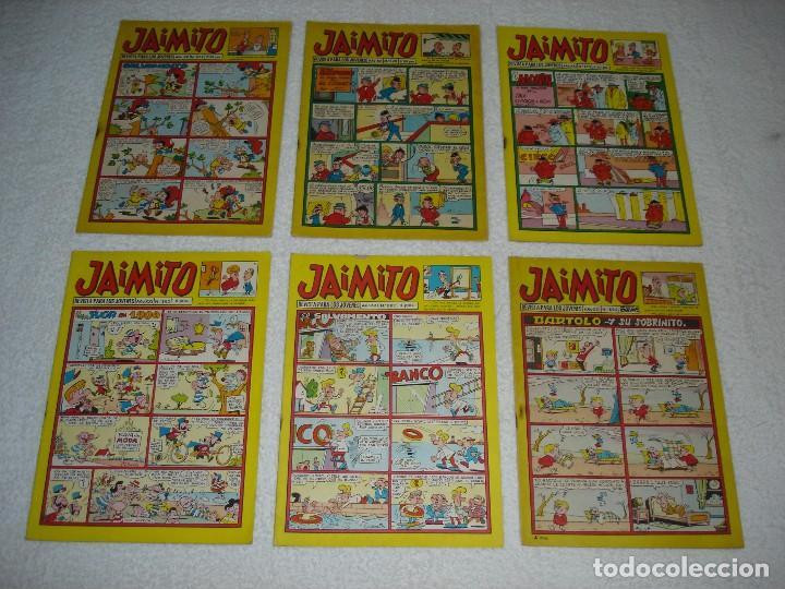 Tebeos: JAIMITO LOTE DE 180 EJEMPLARES (INCLUYE ALMANAQUES, ALBUMES, EXTRAS Y SELECCIONES) - DIVERSAS EPOCAS - Foto 9 - 113715387
