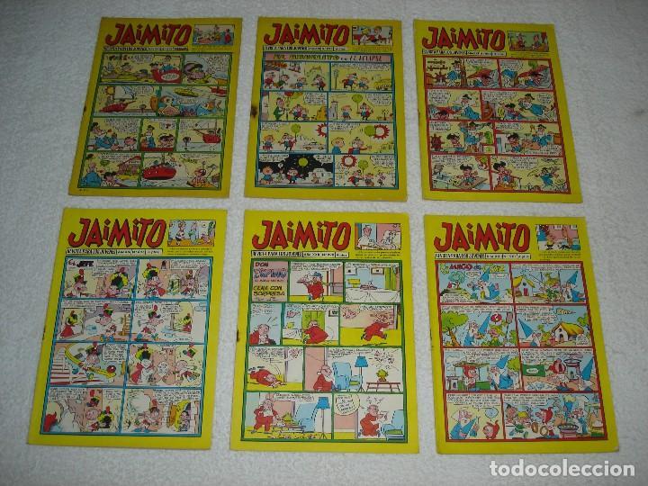 Tebeos: JAIMITO LOTE DE 180 EJEMPLARES (INCLUYE ALMANAQUES, ALBUMES, EXTRAS Y SELECCIONES) - DIVERSAS EPOCAS - Foto 10 - 113715387
