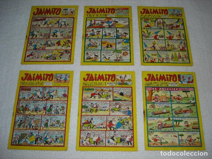 Tebeos: JAIMITO LOTE DE 180 EJEMPLARES (INCLUYE ALMANAQUES, ALBUMES, EXTRAS Y SELECCIONES) - DIVERSAS EPOCAS - Foto 12 - 113715387