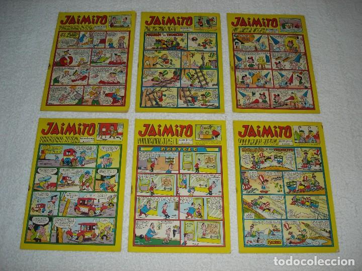 Tebeos: JAIMITO LOTE DE 180 EJEMPLARES (INCLUYE ALMANAQUES, ALBUMES, EXTRAS Y SELECCIONES) - DIVERSAS EPOCAS - Foto 14 - 113715387