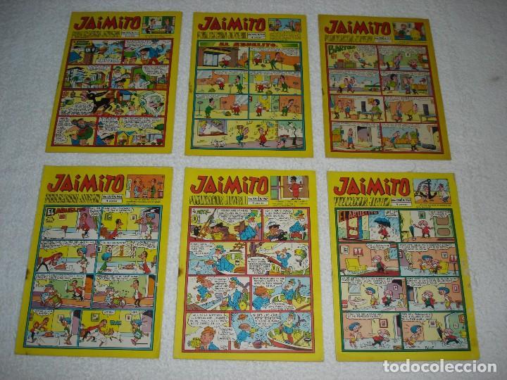 Tebeos: JAIMITO LOTE DE 180 EJEMPLARES (INCLUYE ALMANAQUES, ALBUMES, EXTRAS Y SELECCIONES) - DIVERSAS EPOCAS - Foto 15 - 113715387