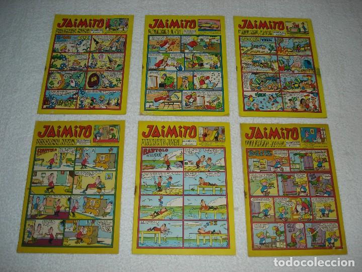 Tebeos: JAIMITO LOTE DE 180 EJEMPLARES (INCLUYE ALMANAQUES, ALBUMES, EXTRAS Y SELECCIONES) - DIVERSAS EPOCAS - Foto 16 - 113715387