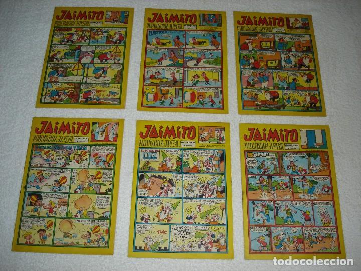 Tebeos: JAIMITO LOTE DE 180 EJEMPLARES (INCLUYE ALMANAQUES, ALBUMES, EXTRAS Y SELECCIONES) - DIVERSAS EPOCAS - Foto 18 - 113715387