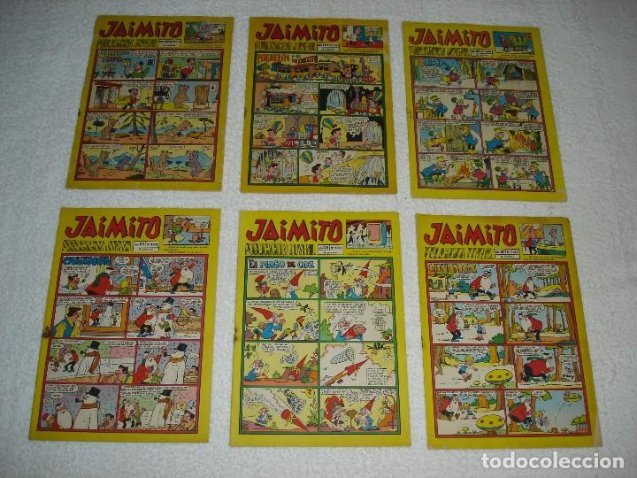 Tebeos: JAIMITO LOTE DE 180 EJEMPLARES (INCLUYE ALMANAQUES, ALBUMES, EXTRAS Y SELECCIONES) - DIVERSAS EPOCAS - Foto 19 - 113715387