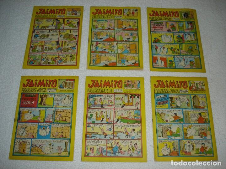 Tebeos: JAIMITO LOTE DE 180 EJEMPLARES (INCLUYE ALMANAQUES, ALBUMES, EXTRAS Y SELECCIONES) - DIVERSAS EPOCAS - Foto 23 - 113715387
