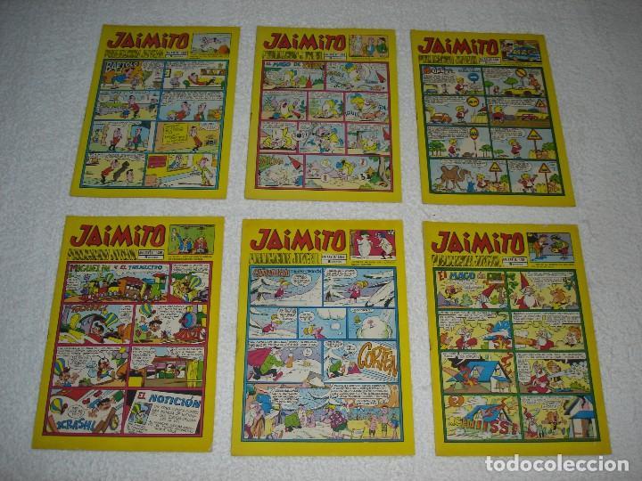 Tebeos: JAIMITO LOTE DE 180 EJEMPLARES (INCLUYE ALMANAQUES, ALBUMES, EXTRAS Y SELECCIONES) - DIVERSAS EPOCAS - Foto 26 - 113715387