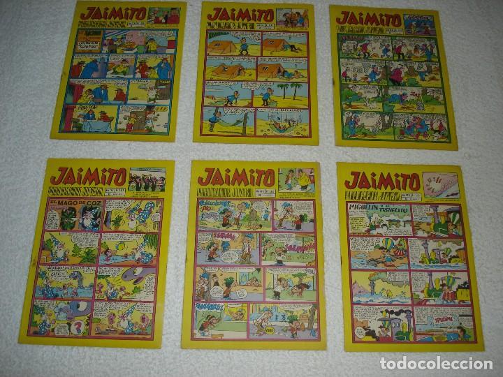 Tebeos: JAIMITO LOTE DE 180 EJEMPLARES (INCLUYE ALMANAQUES, ALBUMES, EXTRAS Y SELECCIONES) - DIVERSAS EPOCAS - Foto 29 - 113715387
