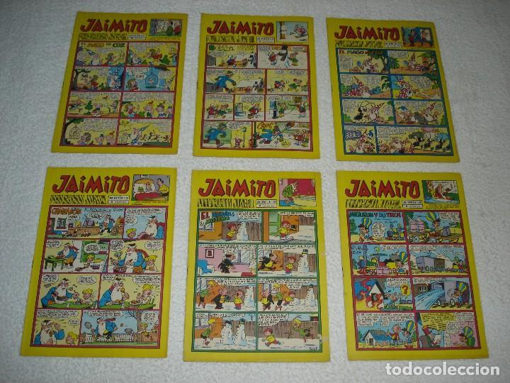 Tebeos: JAIMITO LOTE DE 180 EJEMPLARES (INCLUYE ALMANAQUES, ALBUMES, EXTRAS Y SELECCIONES) - DIVERSAS EPOCAS - Foto 30 - 113715387
