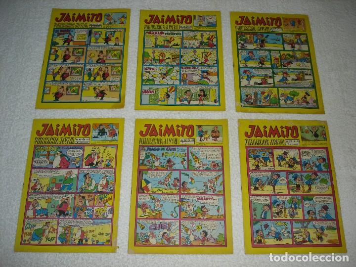 Tebeos: JAIMITO LOTE DE 180 EJEMPLARES (INCLUYE ALMANAQUES, ALBUMES, EXTRAS Y SELECCIONES) - DIVERSAS EPOCAS - Foto 31 - 113715387