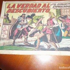 Tebeos: EL ESPADACHIN ENMASCARADO.Nº 224-ORIGINAL. Lote 113922699