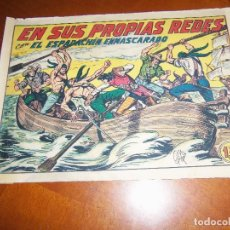 Tebeos: EL ESPADACHIN ENMASCARADO Nº 162--ORIGINAL. Lote 113924383