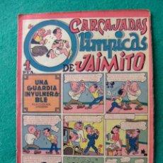 Tebeos: CARCAJADAS OLIMPICAS DE JAIMITO 1 PTA JAIMITO Nº 26 AÑO 1945 EDITORIAL VALENCIANA. Lote 114120071