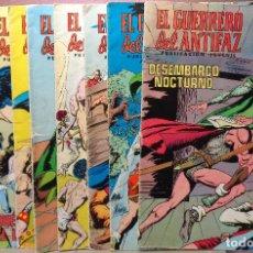 Tebeos: LOTE DE 9 COMICS - EL GUERRERO DEL ANTIFAZ - PUBLICACIONES JUVENIL -78,86,99.158,166,171,172,307,313. Lote 114247343