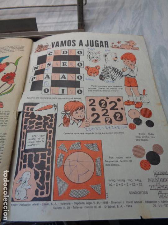Tebeos: LOTE DE 5 COMICS - PUMBY Nº664-691-731-794-868 - PUBLICACION INFANTIL VALENCIANA 1970/1971/1973/1974 - Foto 5 - 114334239