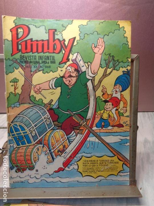 Tebeos: LOTE DE 5 COMICS - PUMBY Nº664-691-731-794-868 - PUBLICACION INFANTIL VALENCIANA 1970/1971/1973/1974 - Foto 6 - 114334239