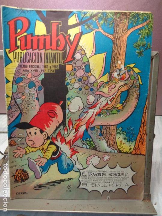 Tebeos: LOTE DE 5 COMICS - PUMBY Nº664-691-731-794-868 - PUBLICACION INFANTIL VALENCIANA 1970/1971/1973/1974 - Foto 8 - 114334239