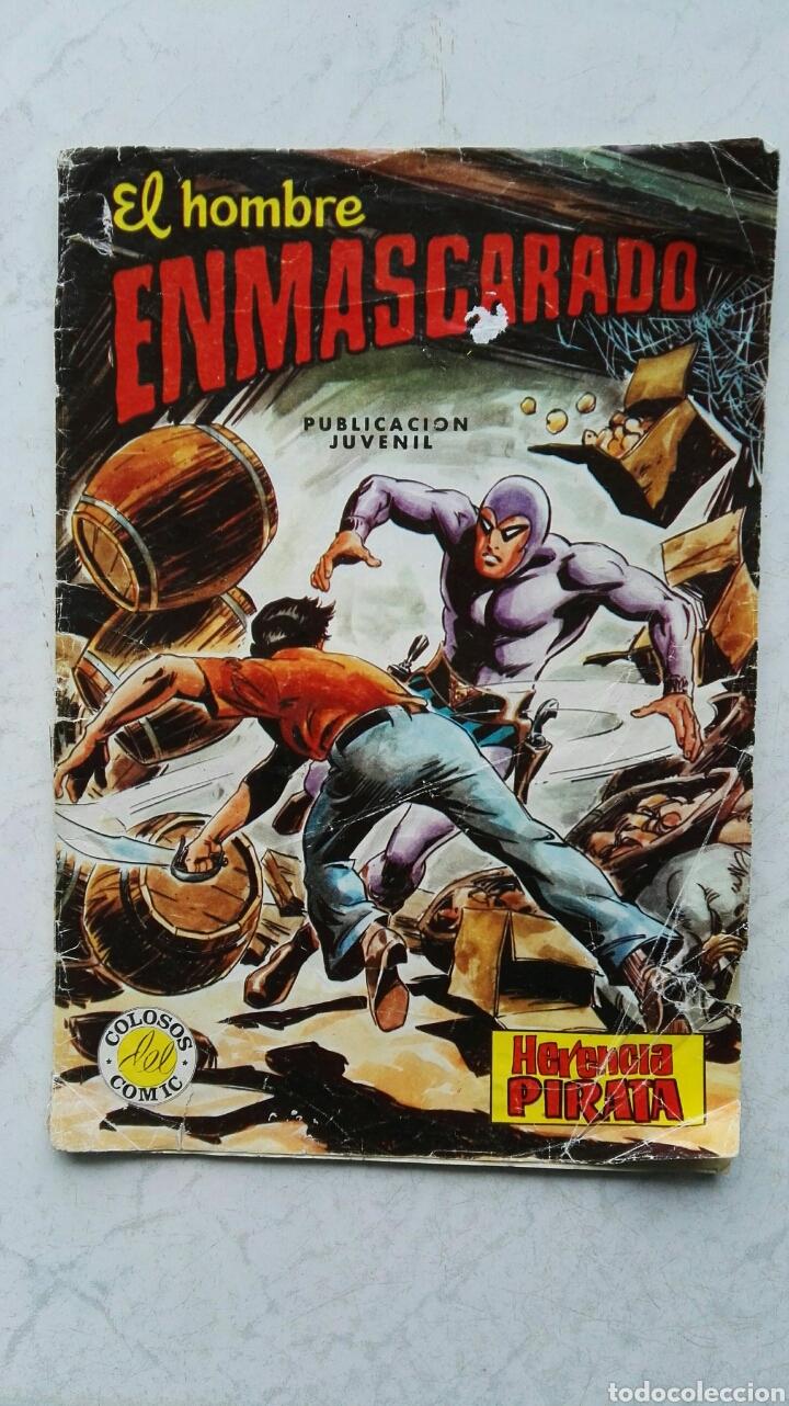 EL HOMBRE ENMASCARADO HERENCIA PIRATA COLOSOS DEL COMIC (Tebeos y Comics - Valenciana - Colosos del Comic)