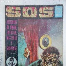 Livros de Banda Desenhada: SOS Nº 14 1ª, CON HISTORIAS POR MANUEL GAGO, V VAÑO, SALVADOR MARTINEZ, RICARDO VILLAMONTE . Lote 114486143