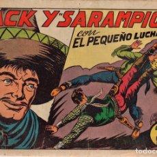 Tebeos: JACK Y SARAMPIÓN. Nº 78. EL PEQUEÑO LUCHADOR. ORIGINAL. Lote 114522139