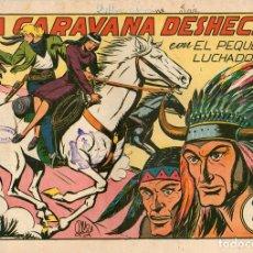 Giornalini: LA CARAVANA DESHECHA. Nº 86. EL PEQUEÑO LUCHADOR. ORIGINAL. Lote 114522386