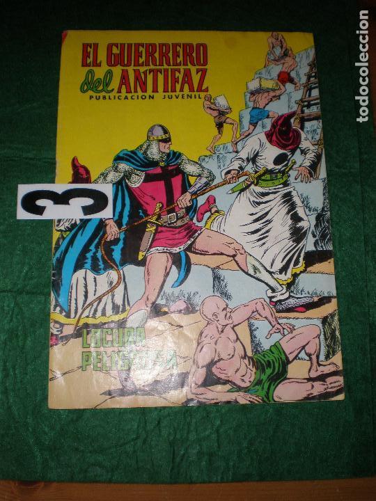 EL GUERRERO DEL ANTIFAZ (Tebeos y Comics - Valenciana - Guerrero del Antifaz)