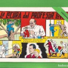 Tebeos: ROBERTO ALCÁZAR Y PEDRÍN - Nº 32 - LA LOCURA DEL PROFESOR LOWE - VALENCIANA - (1982).. Lote 114915431