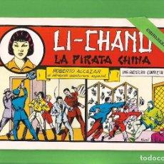 Tebeos: ROBERTO ALCÁZAR Y PEDRÍN - Nº 35 - LI-CHANG LA PIRATA CHINA - VALENCIANA - (1982).. Lote 114917219
