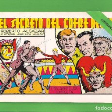 Tebeos: ROBERTO ALCÁZAR Y PEDRÍN - Nº 45 - EL SECRETO DEL COFRE NEGRO - VALENCIANA - (1982).. Lote 114920847