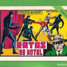 Tebeos: ROBERTO ALCÁZAR Y PEDRÍN - Nº 46 - RATAS DE HOTEL - VALENCIANA - (1982).. Lote 114921239