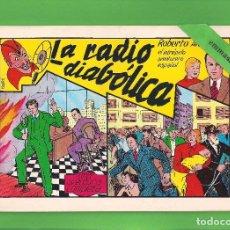 Tebeos: ROBERTO ALCÁZAR Y PEDRÍN - Nº 3 - LA RADIO DIABÓLICA - VALENCIANA - (1981).. Lote 114928251