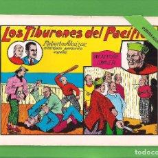 Tebeos: ROBERTO ALCÁZAR Y PEDRÍN - Nº 4 - LOS TIBURONES DEL PACÍFICO - VALENCIANA - (1981).. Lote 114928483
