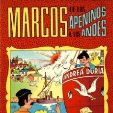 Tebeos: MARCOS DE LOS APENINOS A LOS ANDES, DE ENRIQUE CERDÁN Y JOSÉ SORIANO (VALENCIANA, 1977) 64 PGS. Lote 114994595