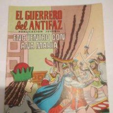 Tebeos: COMIC EL GUERRERO DEL ANTIFAZ.VALENCIANA.NUMERO 34 EDIVAL. Lote 115040923