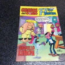Tebeos: COLOSOS DEL COMIC, 7-7 CERO A LA IZQUIERDA, AMARILLO LIMÓN -EDITA : VALENCIANA 1972. Lote 115295823