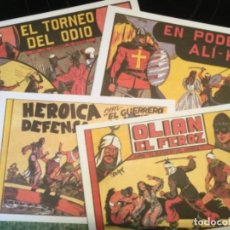 Tebeos: LOTE DE 8 EJEMPLARES DEL GUERRERO DEL ANTIFAZ - EDITORIAL VALENCIANA - REEDICION . Lote 115305891