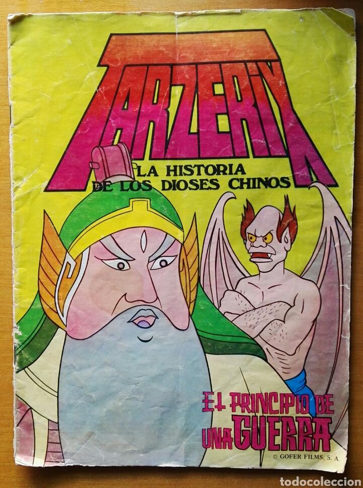 TARZERIX LA HISTORIA DE LOS DIOSES CHINOS VALENCIANA 1978 (Tebeos y Comics - Valenciana - Otros)