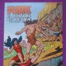 Livros de Banda Desenhada: TEBEO, VALENCIANA, PURK EL HOMBRE DE PIEDRA, GUERREROS FENOMENALES, NUM.35. Lote 197383945