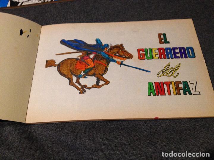 Tebeos: El guerrero del antifaz homenaje a gago numeros 26,27,28,29 con defectos!!!ver lote y fotos - Foto 5 - 115734335