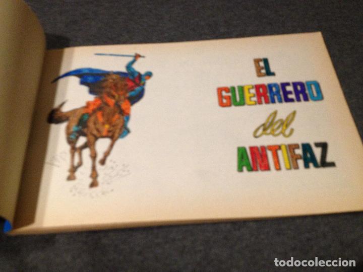 Tebeos: El guerrero del antifaz homenaje a gago numeros 26,27,28,29 con defectos!!!ver lote y fotos - Foto 7 - 115734335