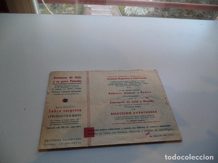 Tebeos: Selección Aventurera, Año 1.940. Nº 6 - 22 - 29. Son Originales y muy dificiles Editorial Valenciana - Foto 2 - 115771459