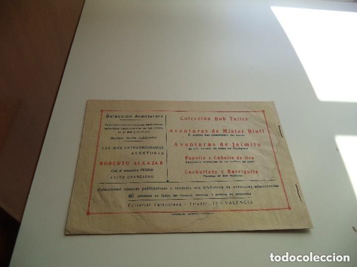 Tebeos: Selección Aventurera, Año 1.940. Nº 6 - 22 - 29. Son Originales y muy dificiles Editorial Valenciana - Foto 4 - 115771459