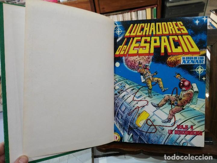 LUCHADORES DEL ESPACIO, LA SAGA DE LOS AZNAR - 21 NÚMEROS, COLECCIÓN COMPLETA - ED. VALENCIANA (Tebeos y Comics - Valenciana - Colosos del Comic)